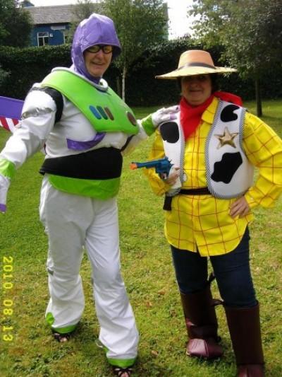 Woody and Buzz Lightyear  sc 1 st  Ballina Costume Company & Disney Costume Hire Mayo Costume Hire Ireland Costumes Ireland ...
